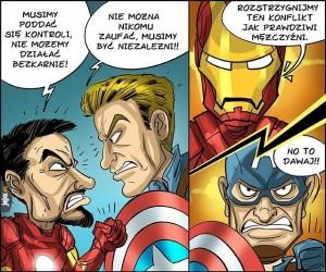 Iron Man vs Kapitan Ameryka