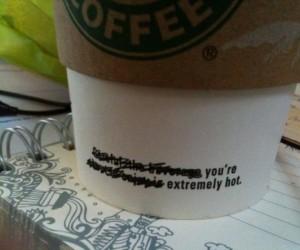 Sposób na podryw w Starbucksie