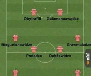 Piłkarze reprezentacji Gruzji