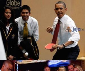 Obama znów szaleje w internecie