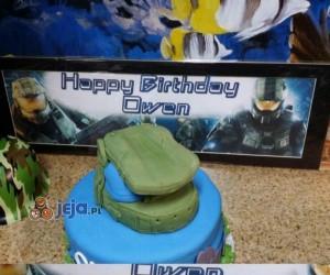 Dzięki za tort mamo...