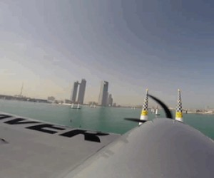 Z kokpitu pilota - Red Bull Air Race