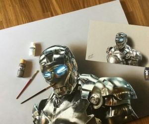 Oddałbym cały hajs Iron Mana, żeby tak rysować