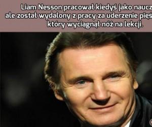 Liam Nesson nie tylko w filmach jest twardzielem