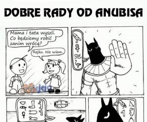 Dobre rady od Anubisa
