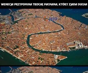 Wenecja przypomina trochę Pacmana