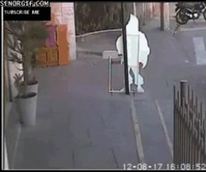Miał szczęście, że wyszedł z tego cało