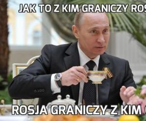 Jak to z kim graniczy Rosja?
