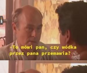 Człowiek wódka