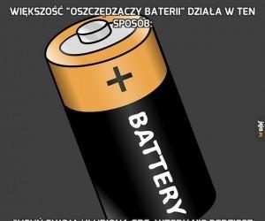 """Większość """"oszczędzaczy baterii"""" działa w ten sposób:"""