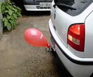Brazylijski sensor parkowania