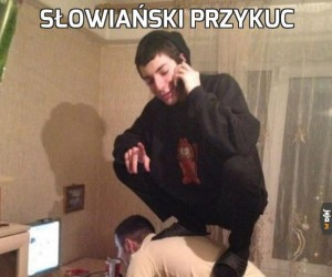 Słowiański przykuc