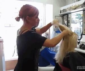 Ekstremalnie szybkie cieniowanie włosów