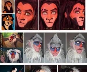 Makeup rodem z Disneya