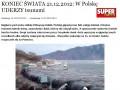 Koniec świata - tsunami na pomorzu?