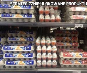 Strategicznie ulokowane produktu