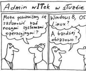 Admin Witek i systemy operacyjne