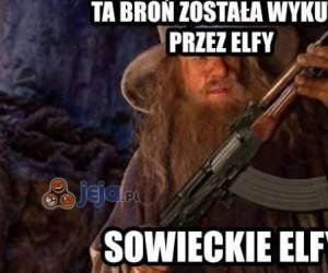 Ta broń została wykuta przez elfy...