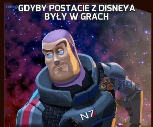 Gdyby postacie z Disneya były w grach