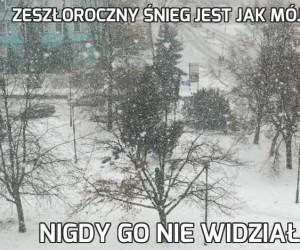 Zeszłoroczny śnieg jest jak mój ojciec