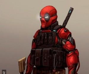 Pancerny Deadpool z przyszłości