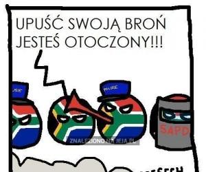 Policja vs Lesotho