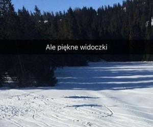 Piękne zimowe widoki