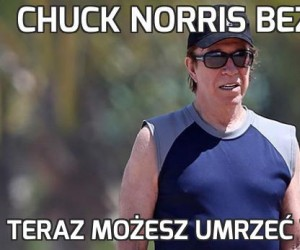 Chuck Norris bez brody