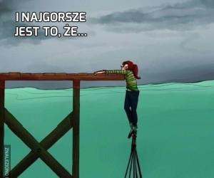 Życie jest czasem ciężkie...