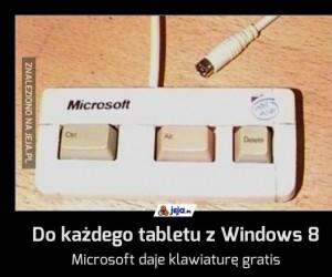 Do każdego tabletu z Windows 8