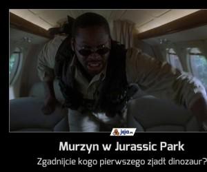 Murzyn w Jurassic Park