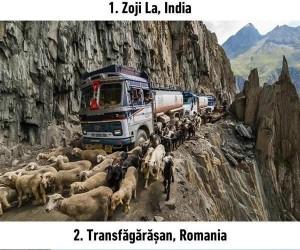 15 najniebezpieczniejszych dróg świata