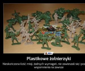 Plastikowe żołnierzyki