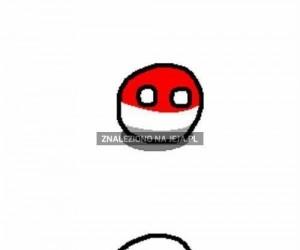 Nieruchomy Polandball