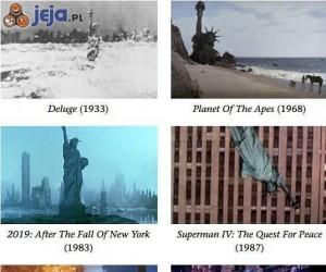 Biedna Statua Wolności