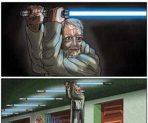Złaź stamtąd Obi!