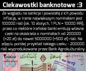 Ciekawostki banknotowe