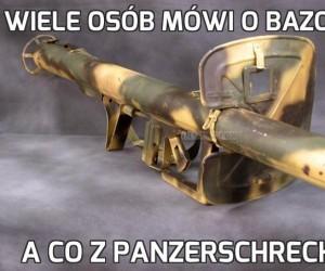Wiele osób mówi o bazookach