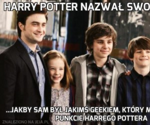Harry Potter nazwał swoje dzieci...