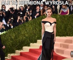Ale ta Hermiona wyrosła...