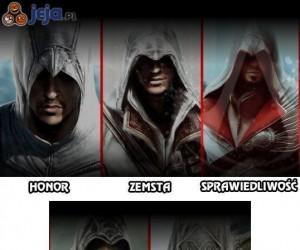 Główne idee Assassin's Creed