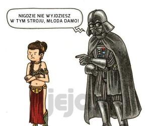 Prawda, że Vader byłby świetnym ojcem?