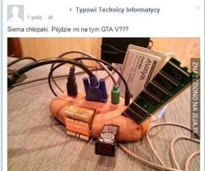 Pójdzie mi na tym GTA V?