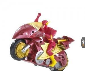 Najbardziej bezużyteczny pojazd superbohaterski ever