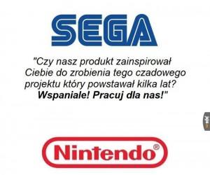 Sega does, what Nintendon't