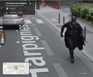 Batman w Google Maps