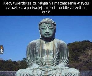 Budda jest zawiedziony