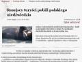 Rosyjscy turyści pobili polskiego niedźwiedzia