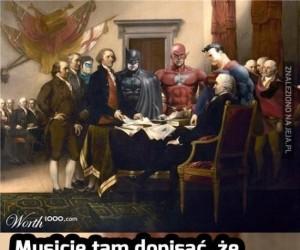 Przy spisywaniu konstytucji...