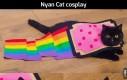 Nyan Cat cosplay